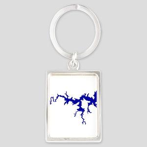 NACI DRAGON [blue] Portrait Keychain